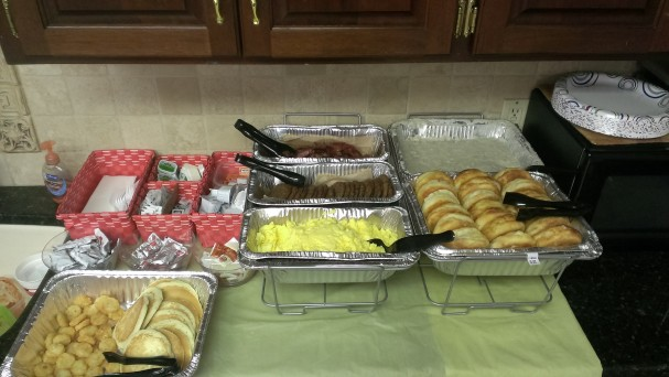 breakfast food, served to reward customers for fleet